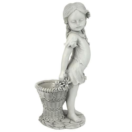 Frances Flower Girl Garden Statue