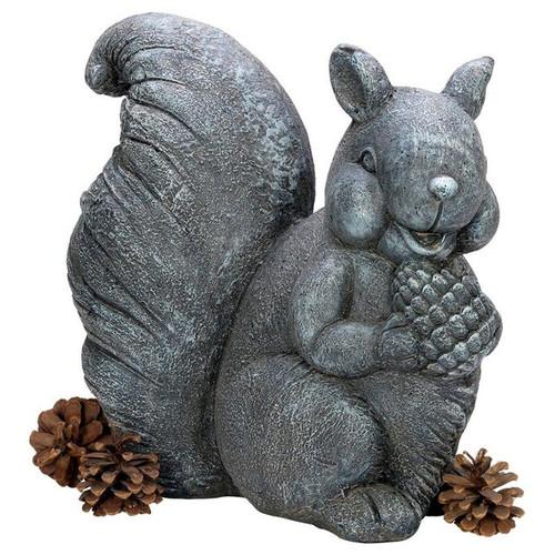 Bandit the Garden Squirrel Garden Statue