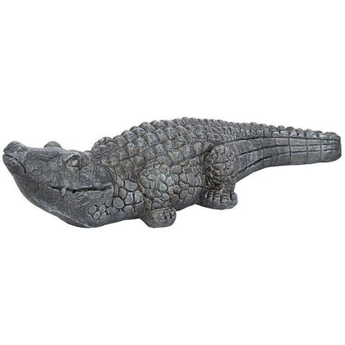 Chomper the Swamp Beast Garden Alligator Garden Statue