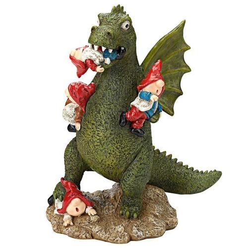 Dragons Garden Gnome Apocalypse Statue