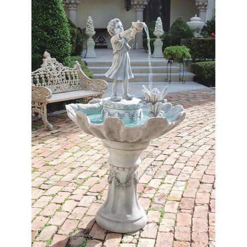 L Acqua di Vita Sculptural Water Fountain