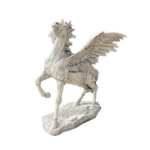 Grand Pegasus Winged Horse Garden Sculpture