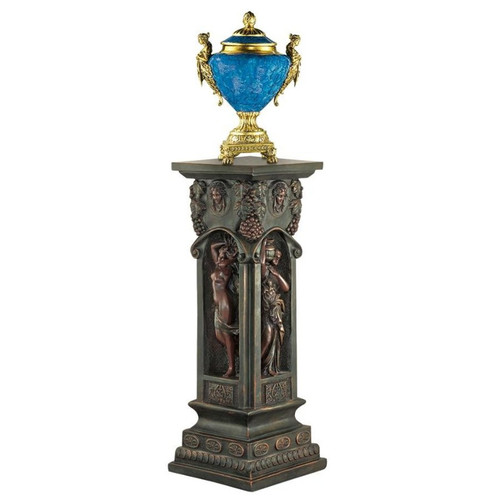 Fontaine des Innocents Plant Stand With Urn on TopFontaine des Innocents Plant Stand