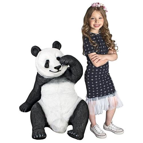 Gao Gao Giant Panda Statue By Gardener