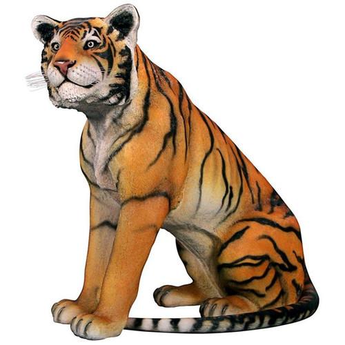 Jungle Giant Bengal Tiger Garden Statue