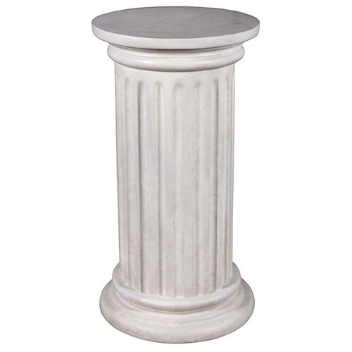 Roman Doric Column Classical Fluted Plant Stand