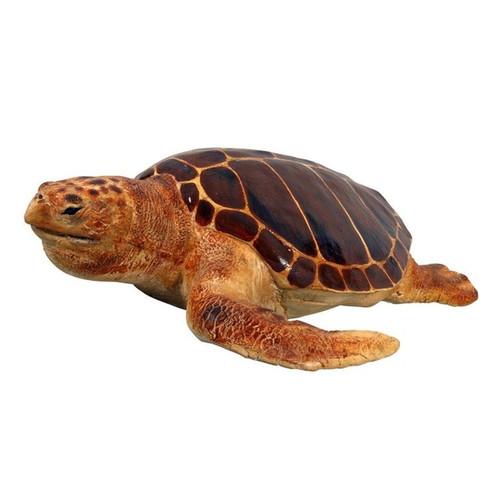 Giant Loggerhead Sea Turtle Statue