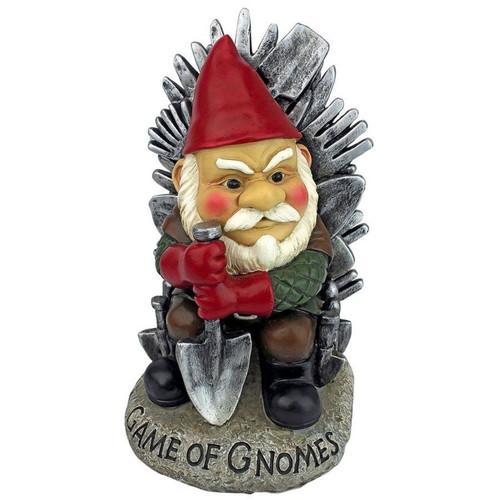 Game of Gnomes Garden Gnome Statue