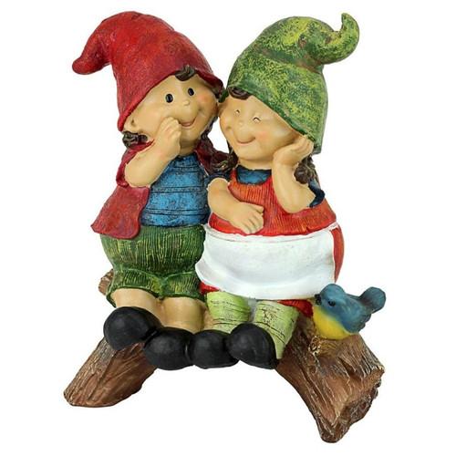 Telling Secrets Garden Gnome Statue