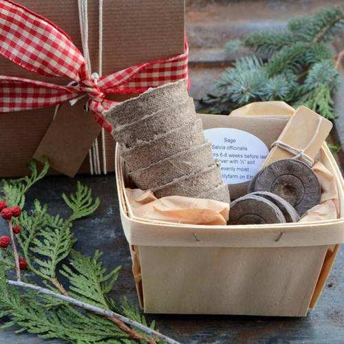 Herb Garden Gift Basket Kit
