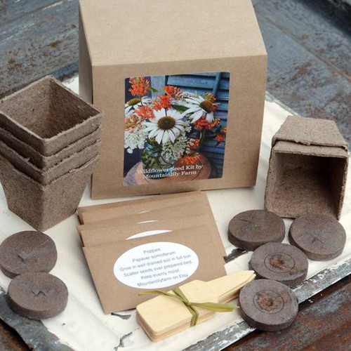 Wildflower Garden Gift Box Kit