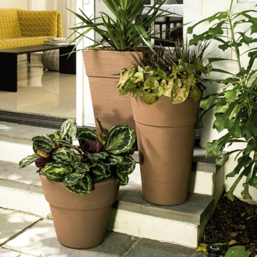 Enzo Tall Planter Cropped