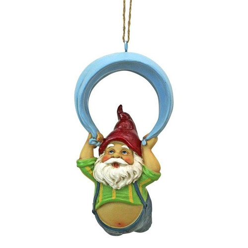 Paavo and his Parachute Adrenaline Junkie Hanging Garden Gnome Statue