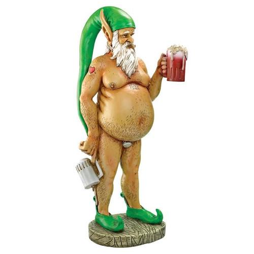 Oktoberfest Otto Elf Garden Gnome Statue