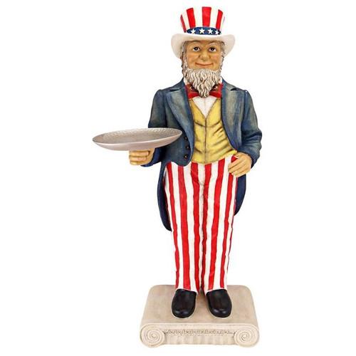 Uncle Sam Yankee Doodle Dandy Butler Plant Stand