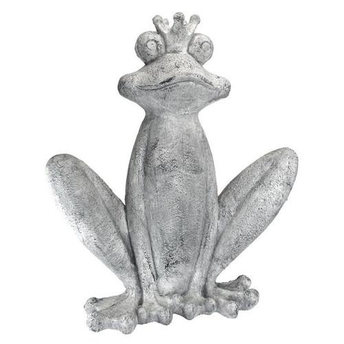 Big Olde Bullfrog King Garden Statue
