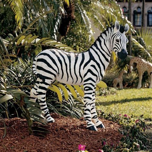 Zairen Zebra Animal Garden Statue in the Garden