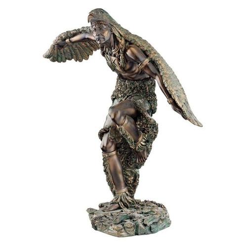 The Eagle Dancer Native American Sculpture