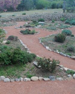 Crusher Fines Garden Path