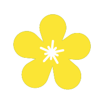 Yellow Flower Icon