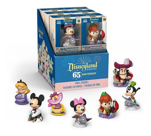 Disneyland 65th Anniversary Mini Vinyl Figure Display Case