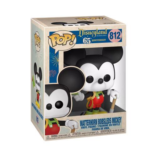 Disneyland 65th Anniversary Mickey in Lederhosen Pop! Vinyl Figure
