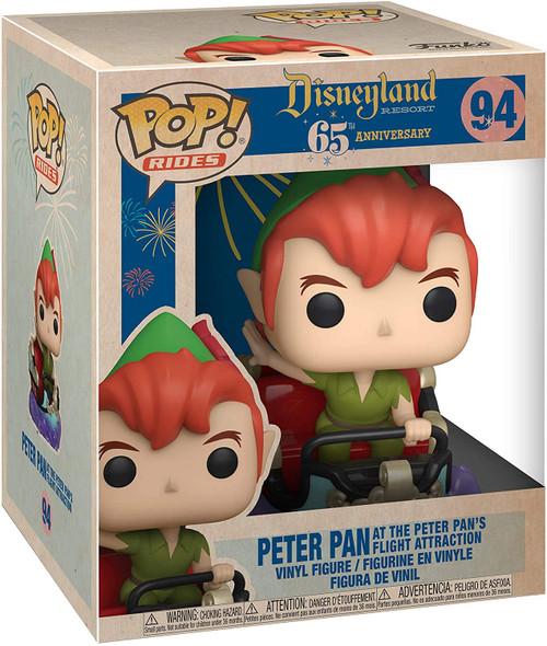 Disneyland 65th Anniversary Peter and Flight Pop! Vinyl Ride