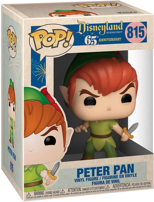 Disneyland 65th Anniversary Peter Pan Pop! Vinyl Figure