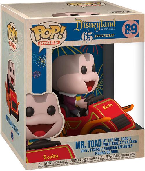 Disneyland 65th Anniversary Mr. Toad in Car Pop! Vinyl Ride