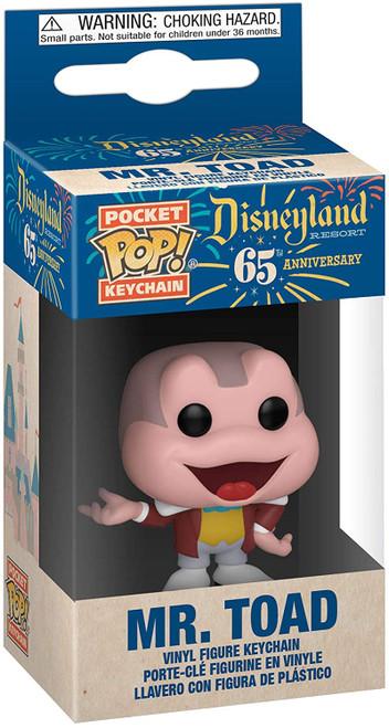 Disneyland 65th Anniversary Mr. Toad Pocket Pop! Key Chain