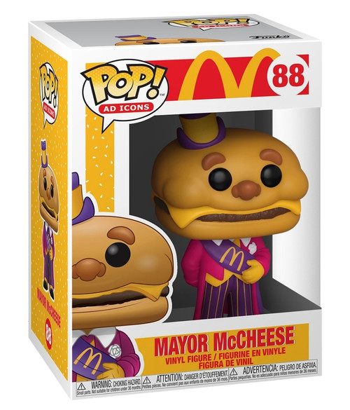 McDonald's Mayor McCheese Pop! Vinyl Figure
