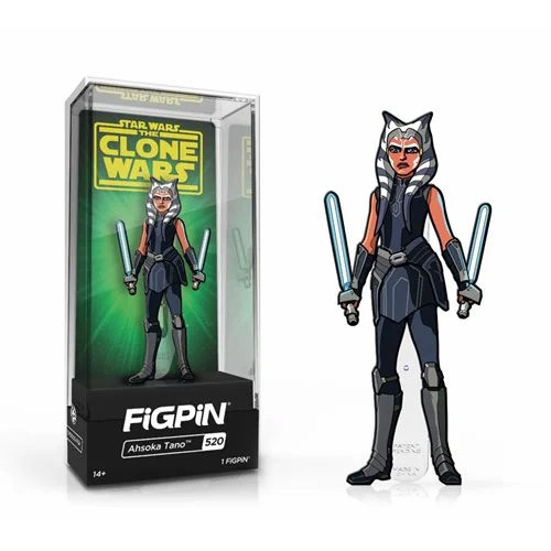 Star Wars Clone Wars Ahsoka Tano FiGPiN Classic Enamel Pin