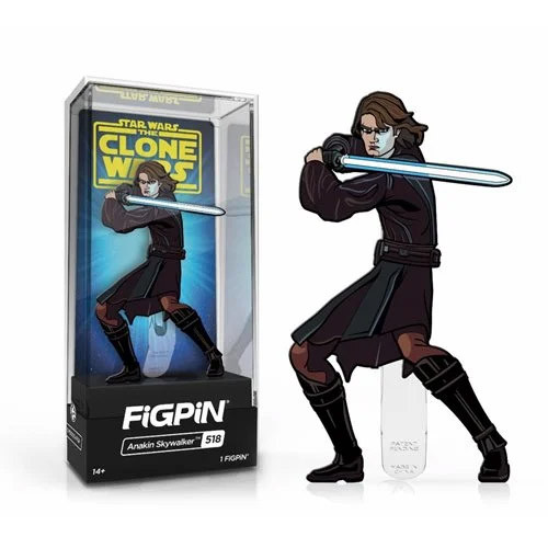 Star Wars Clone Wars Anakin Skywalker FiGPiN Classic Enamel Pin
