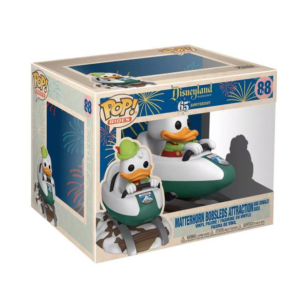 Disneyland 65th Anniversary Matterhorn with Donald Pop! Ride