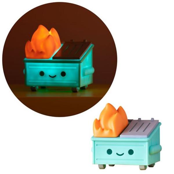 Dumpster Fire Night Light Light-Up Vinyl Figure