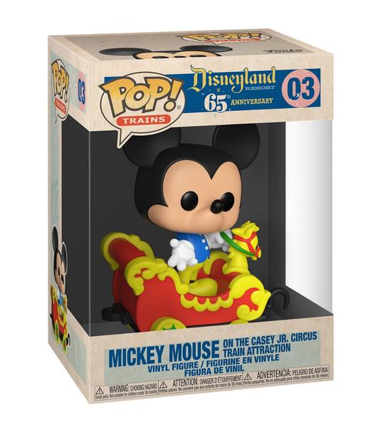 Disneyland Casey Jr. Car 3 with Mickey Pop! Train