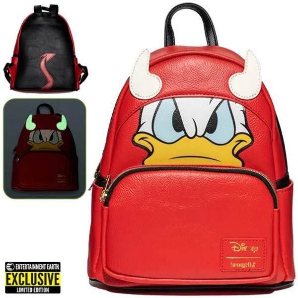 Donald Duck Devil Donald Cosplay Mini-Backpack - Entertainment Earth Exclusive