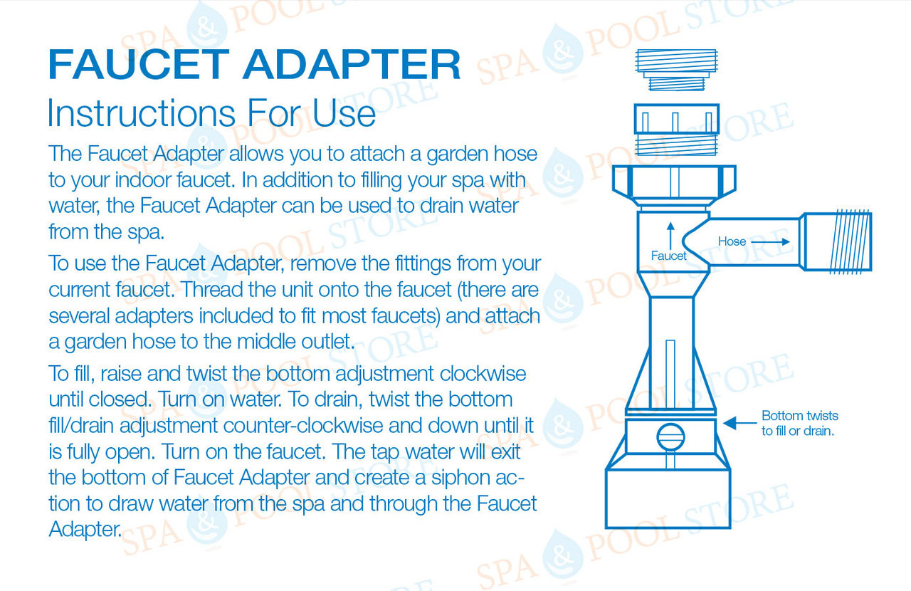 Faucet Adapter-Sink to Garden Hose