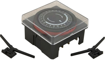 6560-859 Diehl 24Hr Time Clock SPST 240 Volt w/Housing
