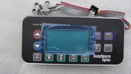 6600-803, Sundance Spa Side Control, 800,850 Series, 2 Pump System w/Remote Cable