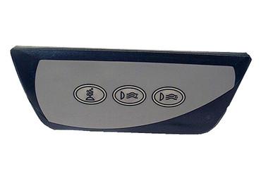 6600-861, Sundance Spa Side Control, Remote, 2000-2005, 850 Series, 2 Pump