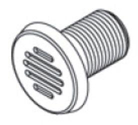 6540-947 Early J-310 Gravity Drain Wall Fitting - LIMITED STOCK