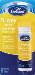 BioGuard / SpaGuard 5 Way Water Test Strips 50 Ct.- Lowest Price