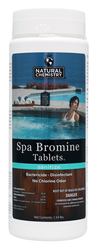 NC Brands Spa Bromine Tabs, 1.54lbs  | Formerly SeaKlear Spa Bromine Tabs - LOWEST PRICING