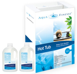 Aquafinesse - Hot Tub Care System (Granular Chlorine Kit)