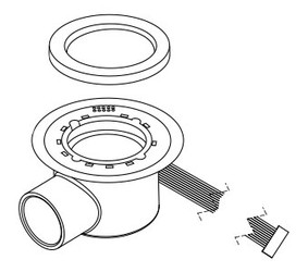 Light Ring with Ribbon Cable (6540-616)