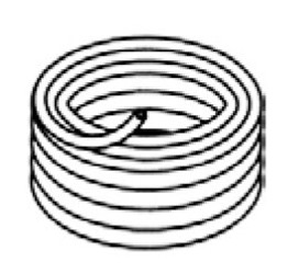 "1.5"" Drain Hose (sold by the foot) (6472-246)"