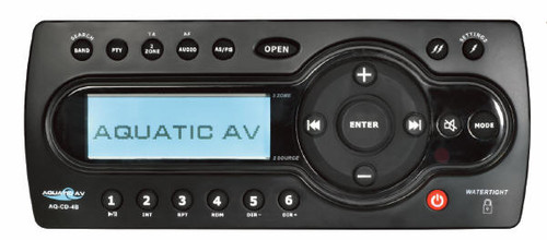 Receiver: AM/FM/iPod Aquatic (6500-555)
