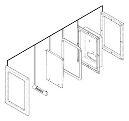 Enclosure: iPod Assembly Cool Gray 2007-2009 (6455-261)