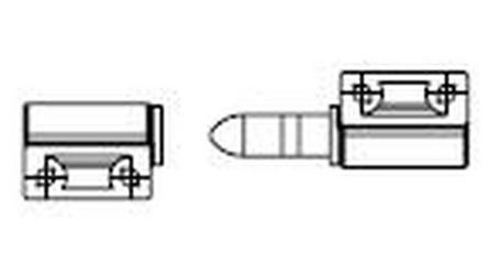 6570-119 & 6570-071 Grill Set: Left & Right Lift Hinges for J-LX®/J-LXL® Skimmer Shield